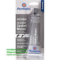 Формирователь прокладок бензостойкий серый Permatex MotoSeal 1 Ultimate Gasket Maker Grey