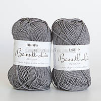 Пряжа Drops Bomull-Lin (колір 20 grey blue)