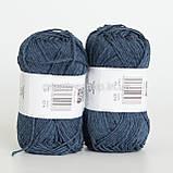 Пряжа Drops Bomull-Lin (цвет 21 dark blue), фото 2