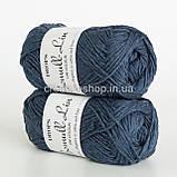 Пряжа Drops Bomull-Lin (цвет 21 dark blue), фото 3