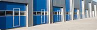 Секционные промышленные автоматические ворота Alutech, фото 1