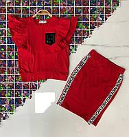 Подростковый костюм с топ+юбка NICE для девочки 8-14 лет,цвет уточняйте при заказе, фото 1