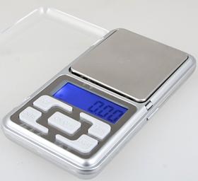 Цифрові портативні кишенькові ваги Pocket Scale MH-500, Ваги ювелірні на 500 грам