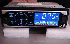 Автомагнітола MP3 3881 ISO, 1DIN сенсорний дисплей