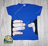"""Стильная летняя футболка для мальчика """"Рука"""", фото 3"""