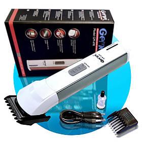 Тример Gemei GM-698 для бороди і вусів, Машинка акумуляторна для стрижки бороди