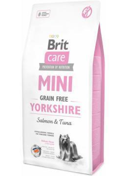 Brit Care GF Mini Yorkshire 7 кг сухий корм для собак породи йорк