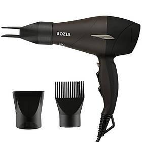 Профессиональный Фен для волос Rozia HC-8507, 2000Вт, 2 скорости, 3 режима нагрева