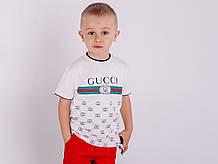 Модные детские футболки Gucci разных цветов