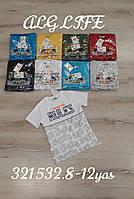 Підліткова трикотажна футболка для хлопчика Rules розмір 8-12 років, колір уточнюйте при замовленні