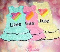 Детское платье Лайк меланж