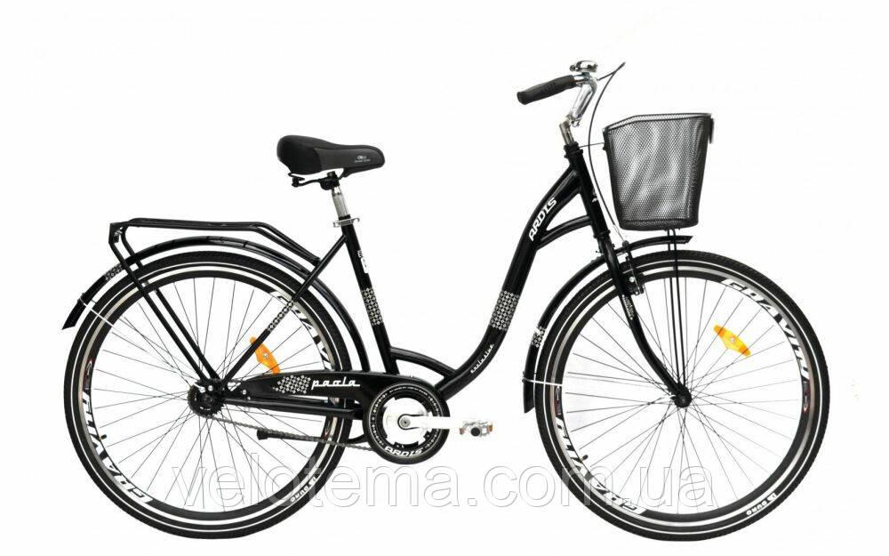 Велосипед городской Ardis Paola 28 черный
