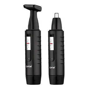 Тример з акумулятором 2 в 1 для носа і вух Gemei GM 3003