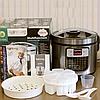 Мультиварка,пароварка, рисоварка, йогуртниця Rainberg RB-6209 45 програм 1000 Вт, фото 4