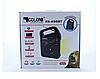 Портативний радіоприймач Golon RX-498LS, Power Bank, usb, sd, сонячна батарея, фото 5