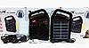Портативний радіоприймач Golon RX-498LS, Power Bank, usb, sd, сонячна батарея, фото 6