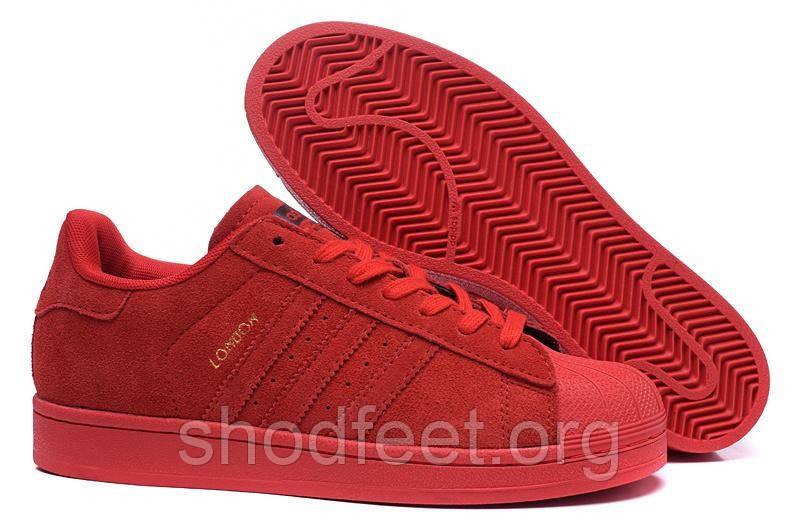 Adidas Superstar London City Red