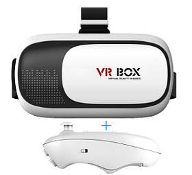 Окуляри віртуальної реальності VR BOX 2.0 3D з пультом в подарунок