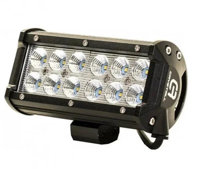 Автофара LEDна авто (12 LED) 5D-36W-SPOT (160 х 70 х 80) / Фара автомобільна світлодіодна