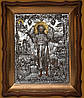 Святой Иоанн Предтеча - Писаная икона в резном киоте