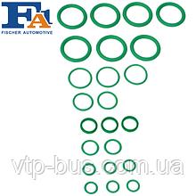 Комплект сальников кондиционера на Renault Trafic 1.9/ 2.0/ 2.5dCi (2001-2014) Fischer (Польша) 3418-003