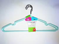 Плечики для одежды в силиконе 40*18 см 10 шт.