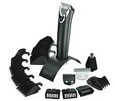 Триммер  с подставкой для стрижки усов и бороды Wahl LI+ Stainless Steel Advanced (9864-016)
