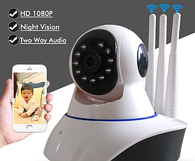 Камера видеонаблюдения IP Q5 GK-100AXF11 3 антенны (hapsee)