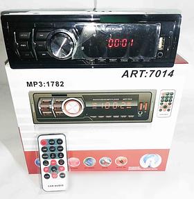 Автомагнітола MP3 1782 ISO, MP3 Player, FM, USB, microSD, AUX