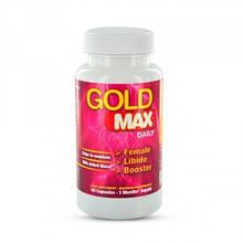 Возбуждающие препараты (капсулы) для женщин Gold Max Daily Pink 60 шт - Бесплатная доставка!
