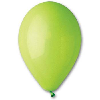 Гелеві Повітряні Кульки GEMAR 10/11 (26см) Пастель Светло-Зеленый от 1 шт