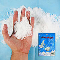 """Искусственный снег """"Белый Медведь"""" Neve Magica 10 г"""