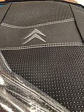 Чехлы на сиденья Ситроен Элизе, Автомобильные чехлы Citroen C-Elysee (цельная) 2012- полный комплект