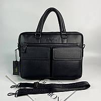 Мужской кожаный портфель для документов Giorgio Armani Джорджо Армани реплика