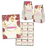 Подарунковий набір цукерки і чай на Рамадан