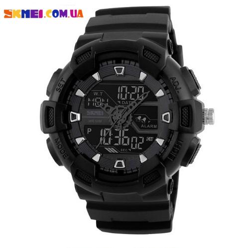 Наручний годинник Skmei 1189 (Black)