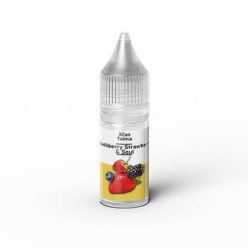Ароматизатор Xian Blackberry Strawberry and Sout (Кислая клубника и ежевика)