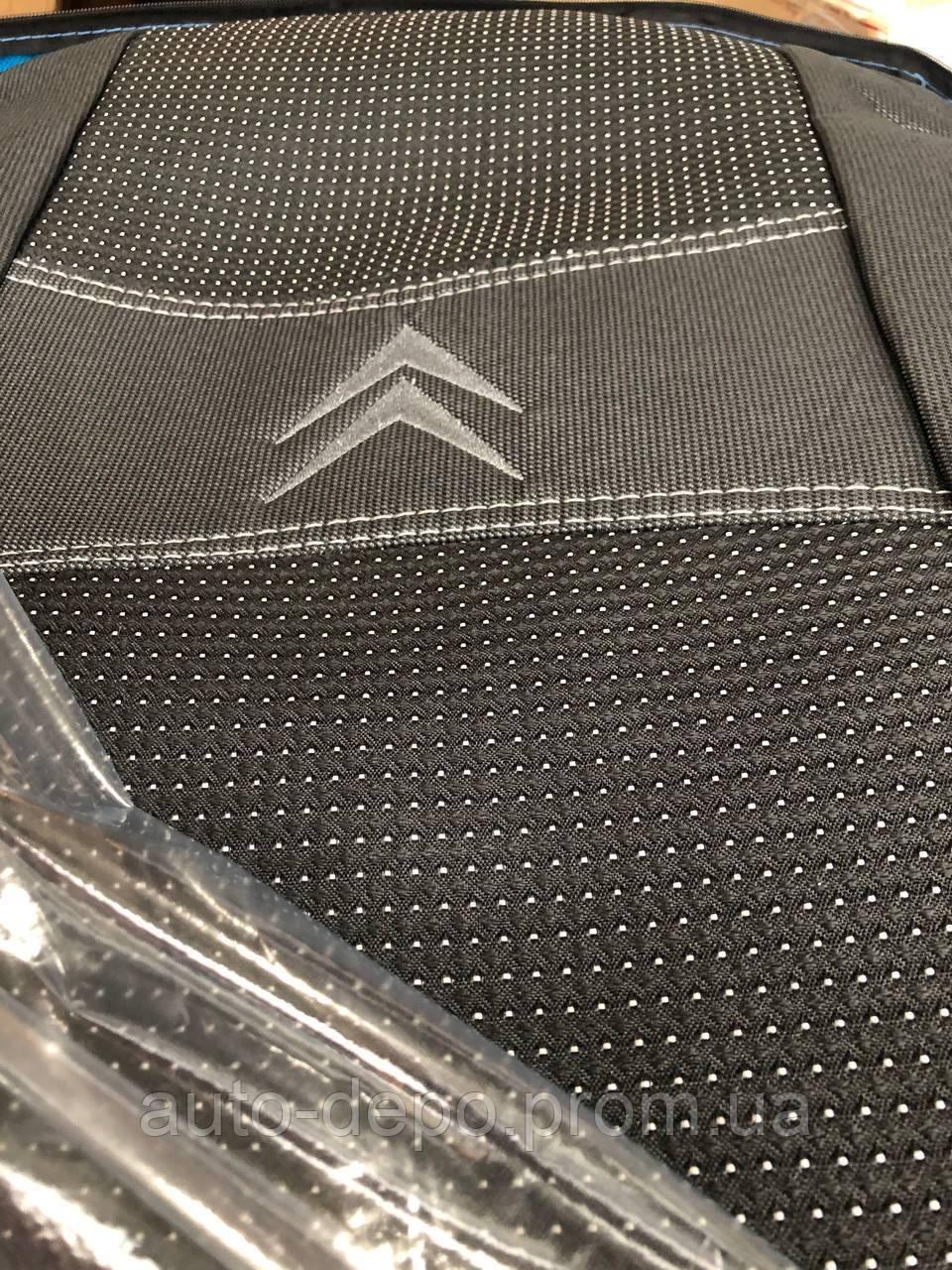 Чохли для Сітроен Джампер, Авточохли на Citroen Jumper I 1+2 1994-2006 Nika