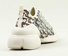 Кросівки жіночі текстильні Stilli 8189-1 бежеві, фото 4