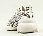 Кросівки жіночі текстильні Stilli 8189-1 бежеві, фото 5