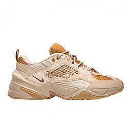 """Женские кроссовки Nike M2K Tekno""""Brown"""" коричневые / женские кроссовки Найк Текно (Топ реплика ААА+)"""