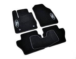 Килимки в салон ворсові AVTM для Ford Fiesta (2008-)/ Форд Фієста /Чорні, кт. 5шт BLCCR1147