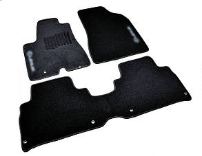 Килимки в салон ворсові AVTM для Lexus/Лексус RX (2003-2009) /Чорні, кт. 3шт BLCCR1301