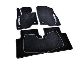 Коврики в салон ворсовые для Mazda 6 /Мазда 6 (2012-) /Чёрные, кт. 5шт