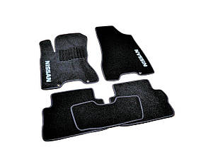 Коврики в салон ворсовые для Nissan X-Trail T31 (2007-2014) /Чёрные, кт. 5шт