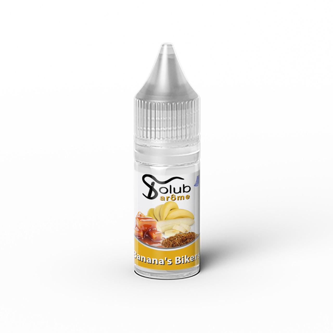 Ароматизатор Solub Arome - Banana's Bikers (М'який смак тютюну з бананом), 10 мл