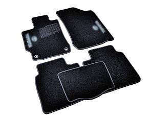 Килимки в салон ворсові AVTM для Тойота Камри/Toyota Camry (2011-) /Чорні, кт. 5шт BLCCR1613