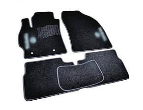 Килимки в салон ворсові AVTM для Тойота/Toyota Corolla/Auris (2007-2012) /Чорні, кт. 5шт BLCCR1621