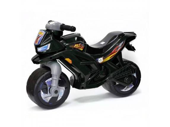 "Беговел ""Мотоцикл"" черный ОРИОН, фото 2"