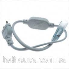 Сетевой шнур для светодиодной ленты 220В SMD 3528/60